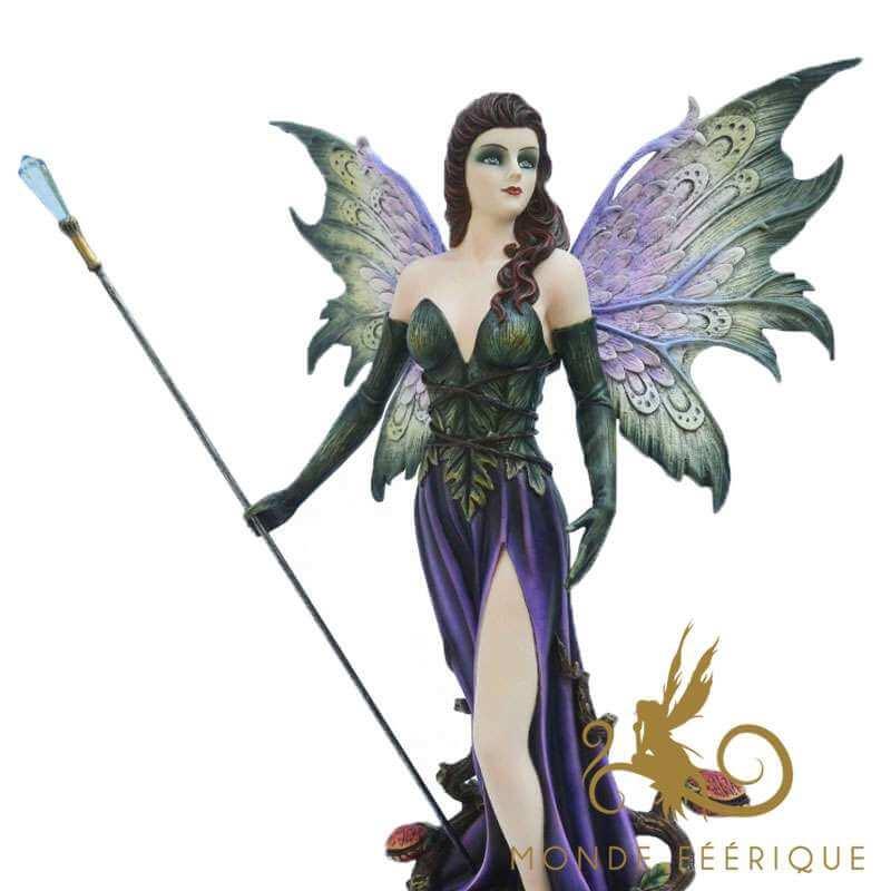 """Figurine Fee Géante """"Magie Incandescente"""""""