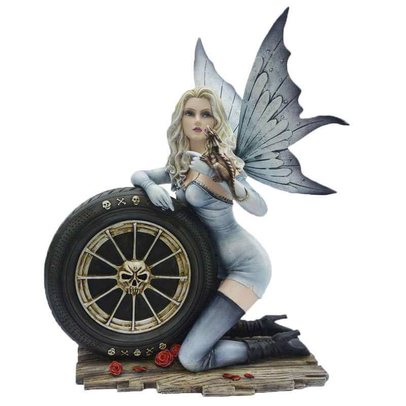 "Grande Figurine Fee ""Angel Pilot"""