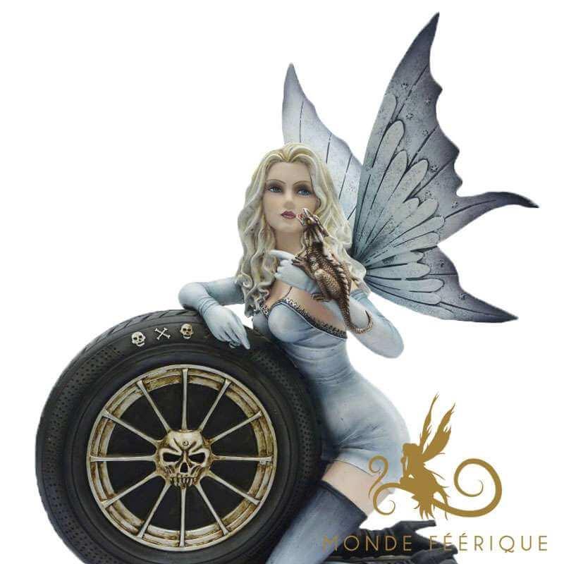 "Grande Figurine Fee ""Angel Pilot"""