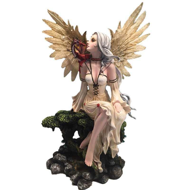 Figurine fée géante transcendante -- 45cm