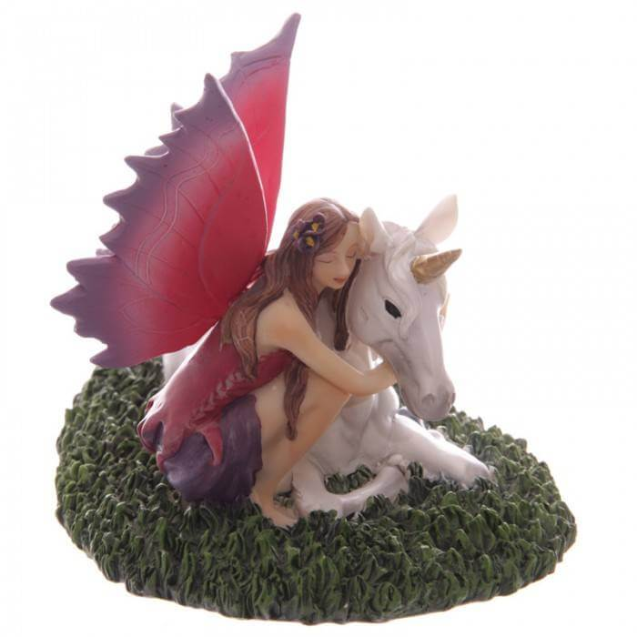 FIGURINE FEE LICORNE FANTASTIQUE