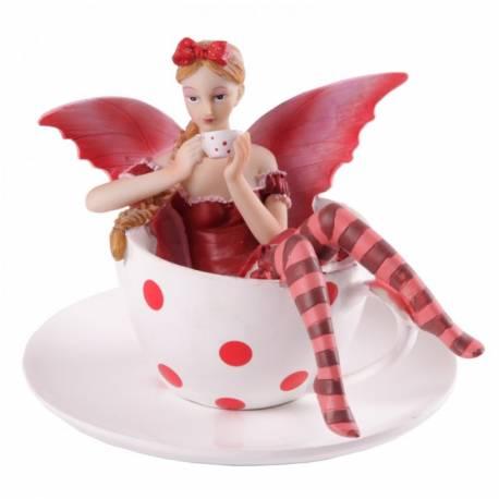 figurine fee thé