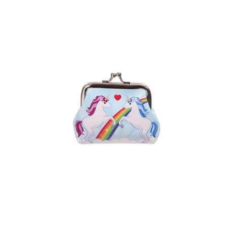 Porte Monnaie Licorne Rainbow