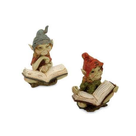 2 Figurines Pixies Livre