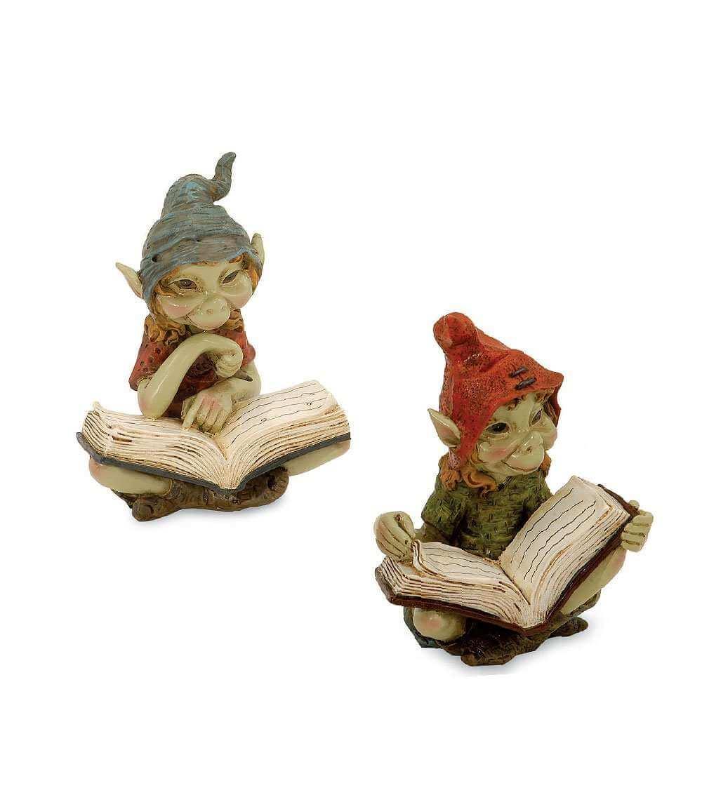 2 Figurines Pixies Livre -- 10,5cm
