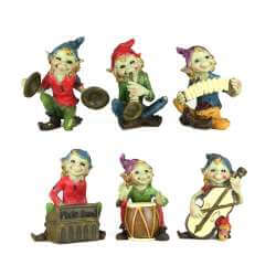 Figurines Pixies Musicien -- 8,5cm par 6