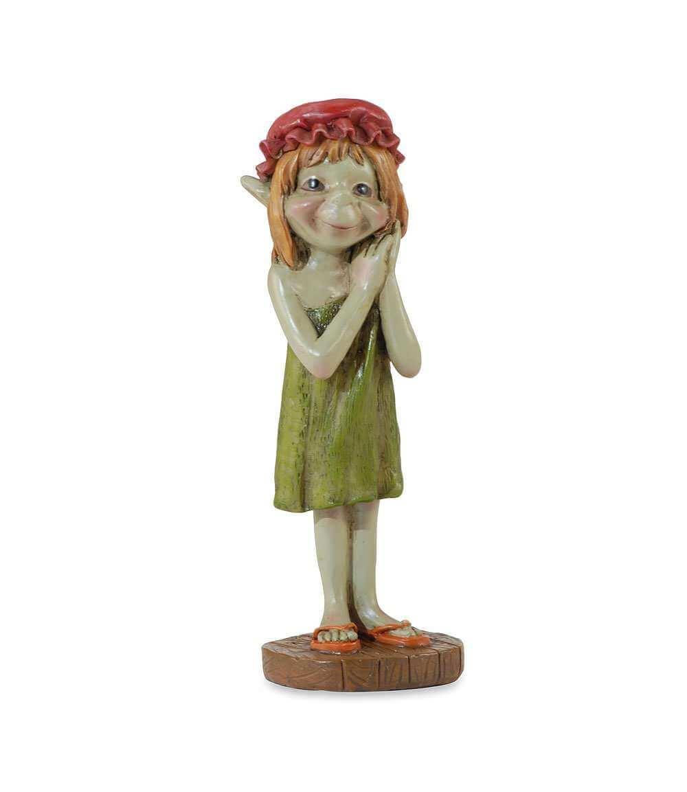 Figurine de Pixie avec une Coiffe - 11,5cm