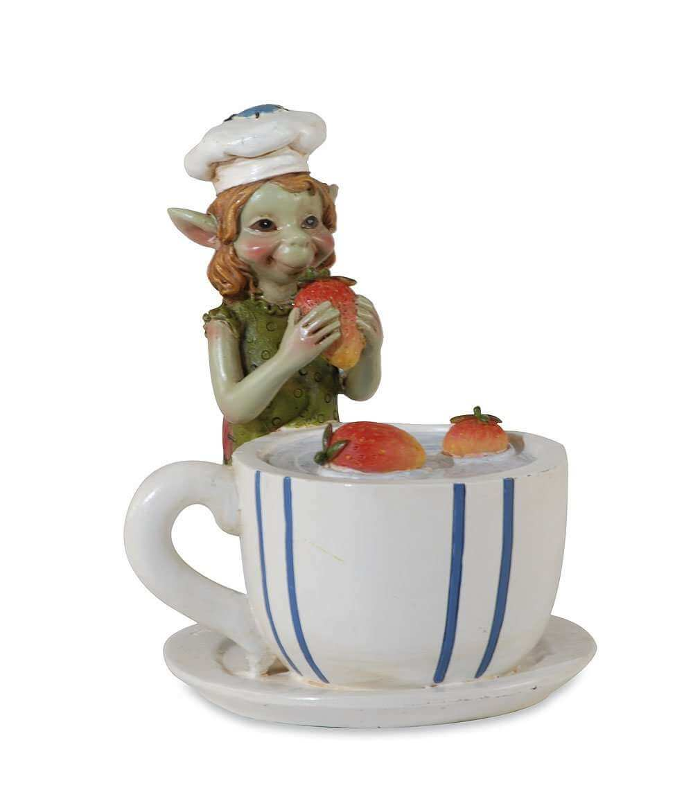 Figurine Pixie Gourmand -- 11cm