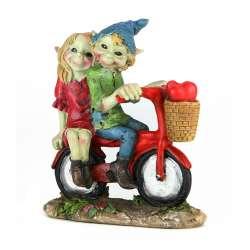 Figurine 2 Pixies à Vélo -- 12cm