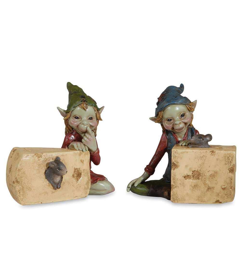 Figurines de Pixie Souris -- 10cm par 2