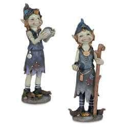 Statuettes Pixies Magic -- 20,5cm par 2