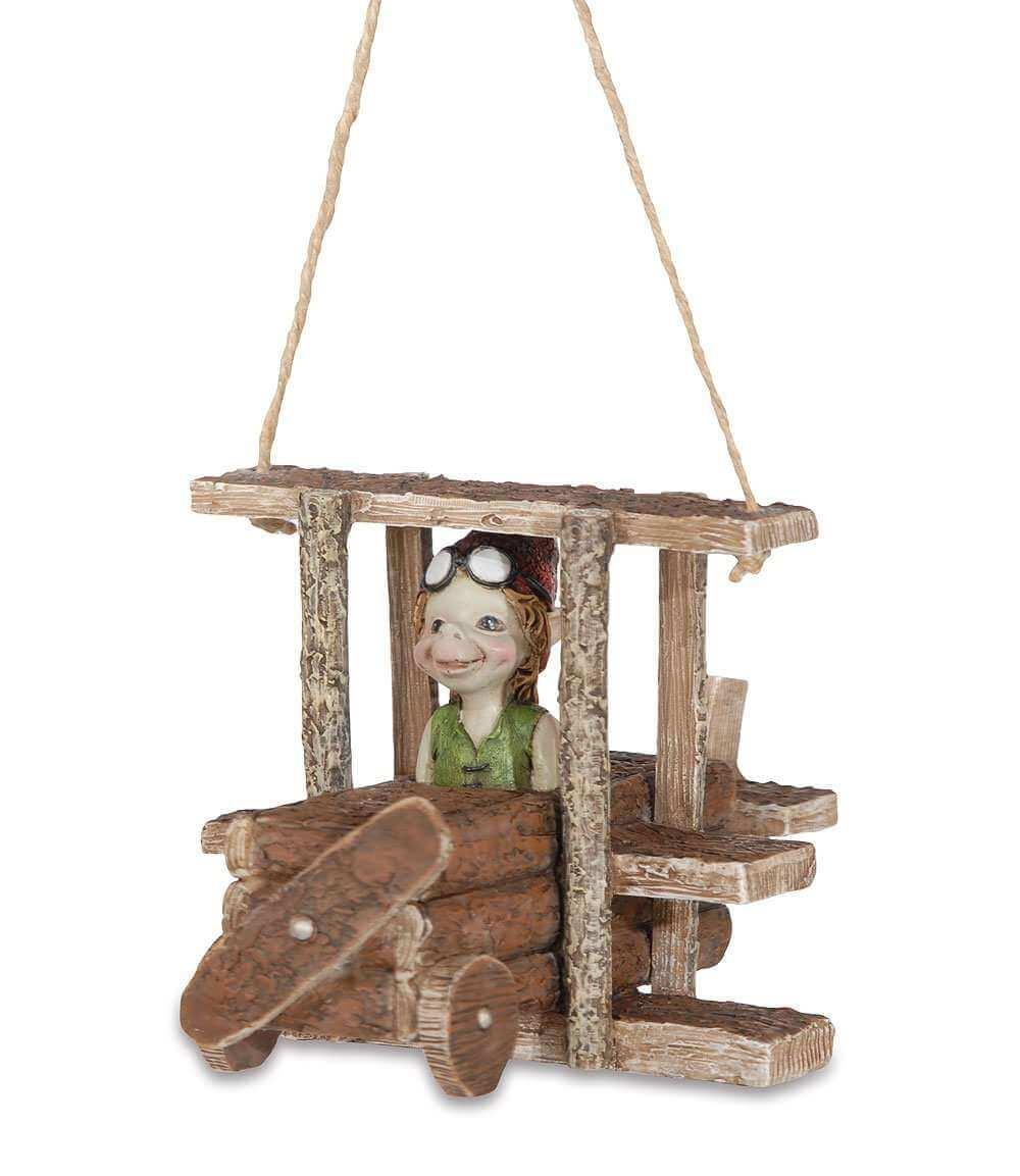 Statuette Pixie Aviateur -- 17cm