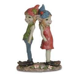 Statuette Couple Pixie Rêveur -- 12cm