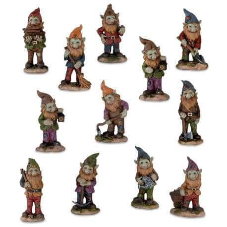Figurine Pixie Gnômes -- 11cm par 12
