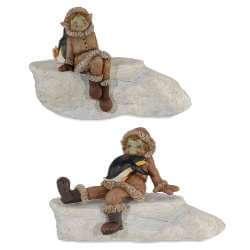 Figurine Pixie Pingouin -- 13cm par 2