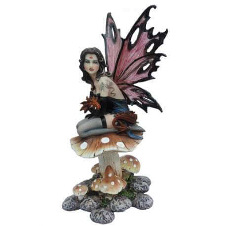 "Figurine Fee ""Dark Love"" -- 13x26cm"