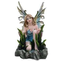 """Statuette Fée """"Natura"""" Ruisseau -- 25cm"""
