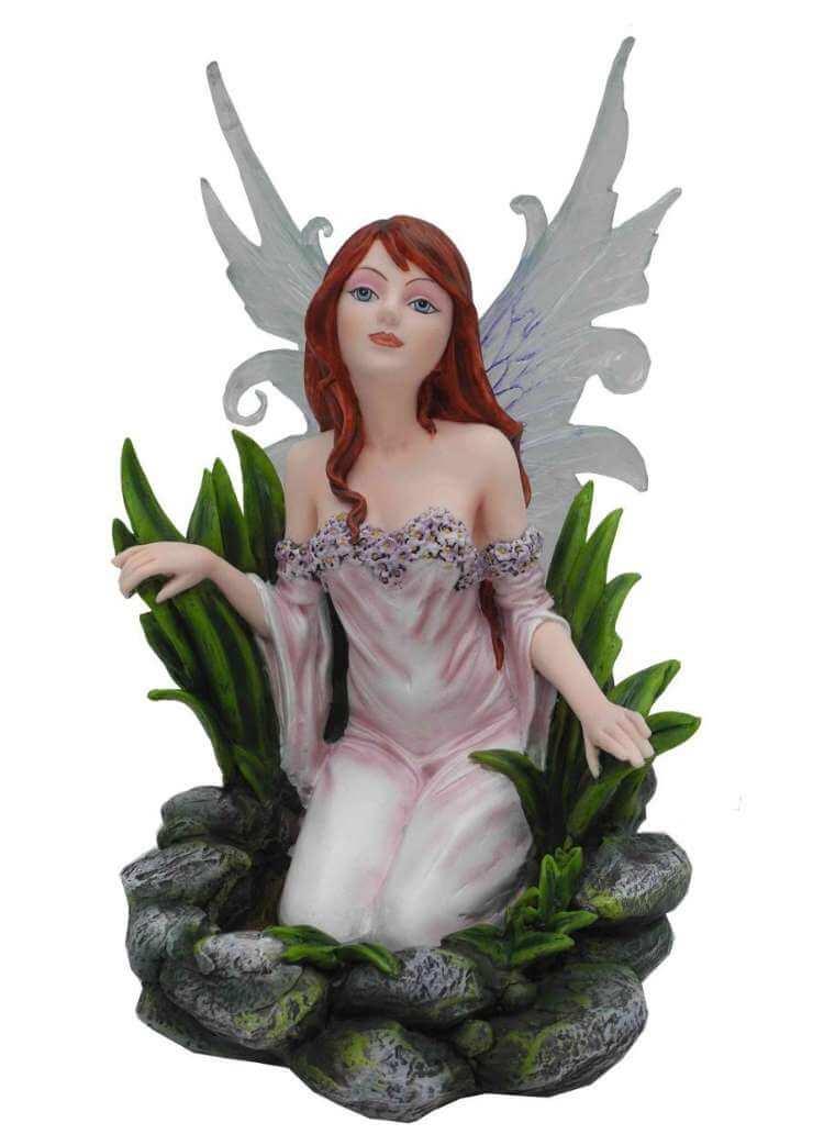 """Statuette Fée """"Natura"""" Clairiere -- 24cm"""
