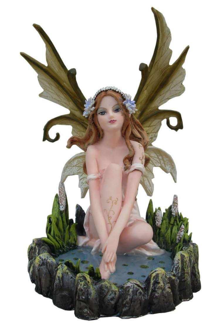 "Statuette Fée ""Natura"" Wild -- 19cm"