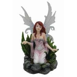 "Statuette Fée ""Natura"" Blanca -- 19cm"
