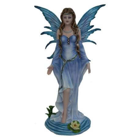 Figurine Fee bleu