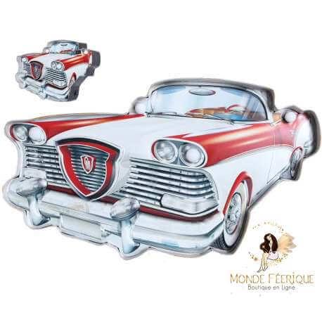 Plaque vintage Cadillac