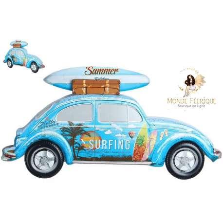 Plaque retro Surf grand format