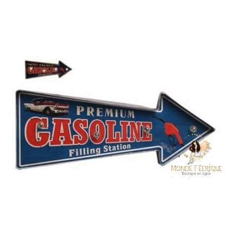 plaque Lumineux vintage pour décoration mur et murale - Cadillac et style USA