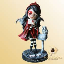 FIGURINE FEE AMOUREUSE ROUGE