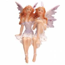 figurine fée jumelle