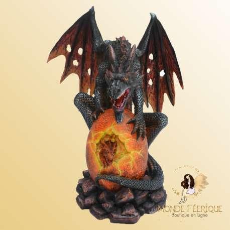 Grande Statuette Dragon