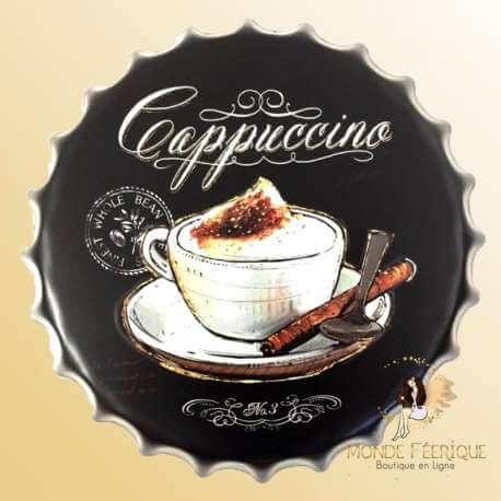 Capsule Métal Café Capuccino
