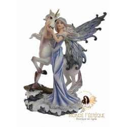 Figurine fée Licorne Magie Fantasy 1
