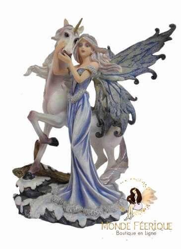 Figurine fée Licorne Magie Fantasy 2