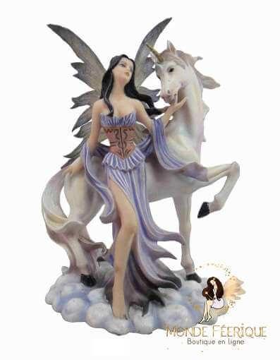 Figurine fée Licorne Magie Fantasy 3