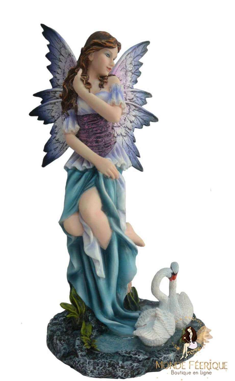Figurine de fée Cygnes -- 24cm
