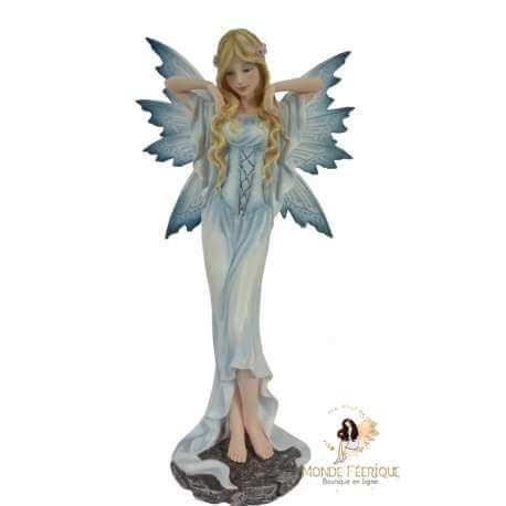 Figurine Fée blanche 38 cm