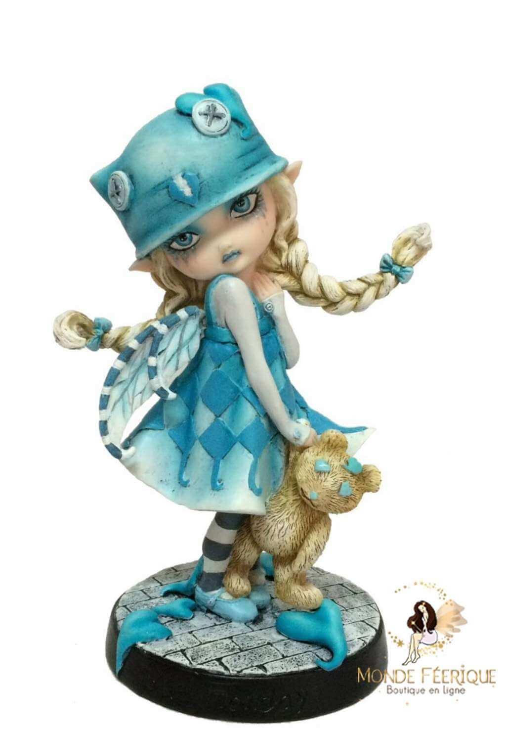 Figurine Fée Enfance -- 16,5cm
