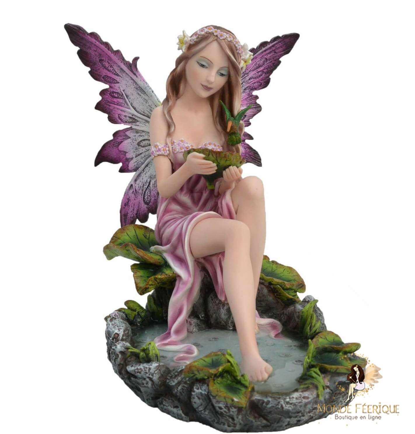 Figurine Fée Reine des Elements -- 26cm