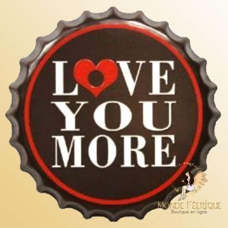 "Capsule deco ""Love You More"" 40cm"