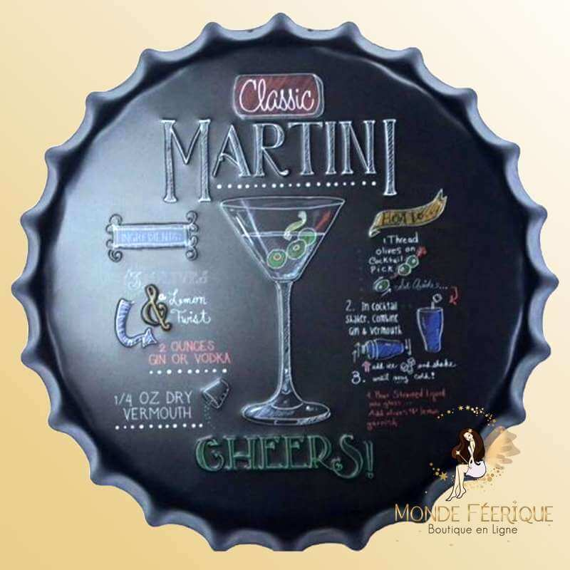 Capsule Décoration MARTINI 40cm