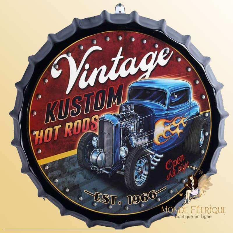 Capsule Vintage Camion Truck 40cm