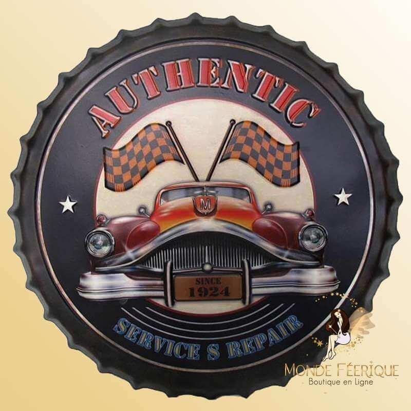 Capsule Vintage Garage Americain 2 40cm