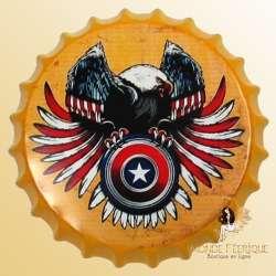 Capsule Vintage USA Aigle Américain 40cm