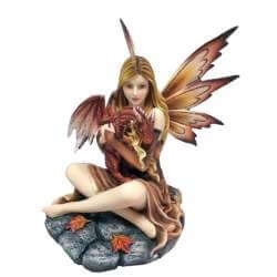 Figurine de Fée Love Dragon 26cm