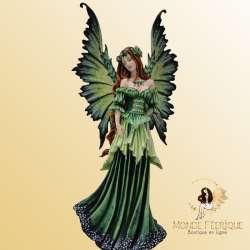 Figurine Fée Amy Brown Green Good -- 49cm
