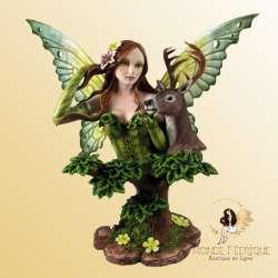Buste Figurine Fée Imaginaire des Biches -- 37cm