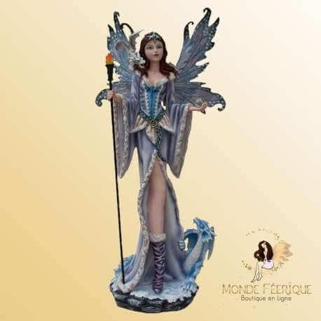 Grande Statuette Fée magique Wooo -- 69cm