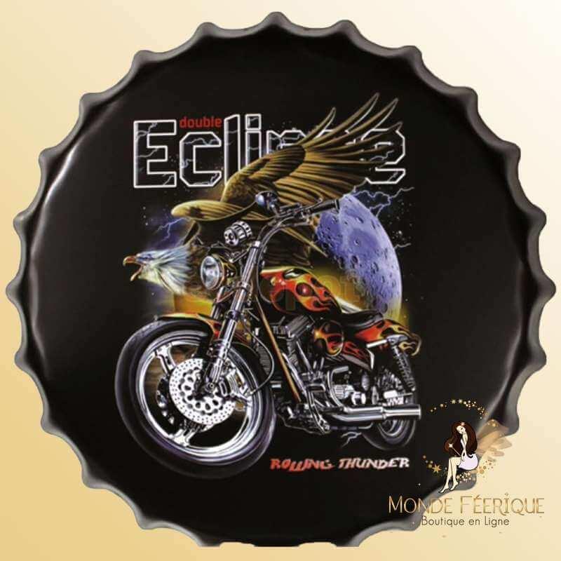 Capsule Décoration Moto & Freedom -- 40cm