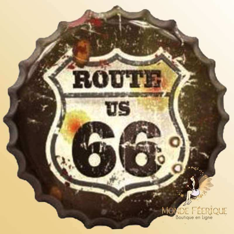 Capsule Geante Route 66 Vintage 40cm